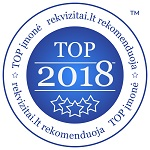 Top 2018 įmonė rekvizitai.lt rekomenduoja